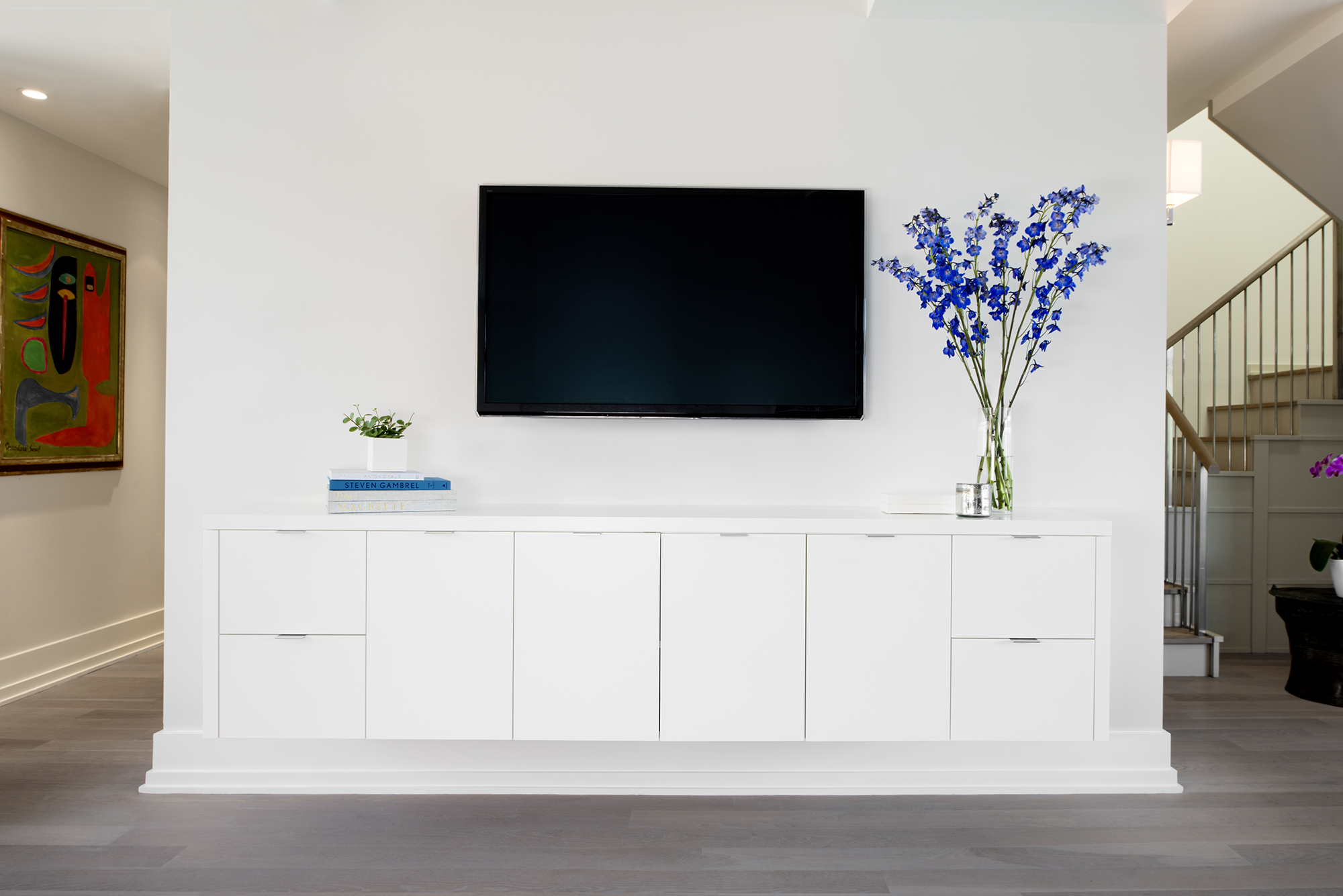 Exciting Floating Media Console For